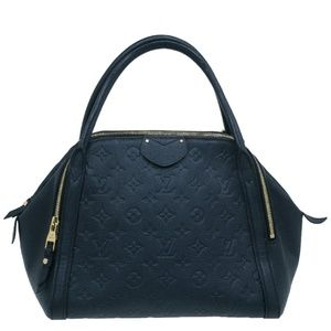 Louis Vuitton Black Empreinte leather Marais MM